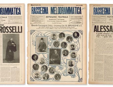 Digitalizzazione di manoscritti autografi verdiani e periodici ottocenteschi