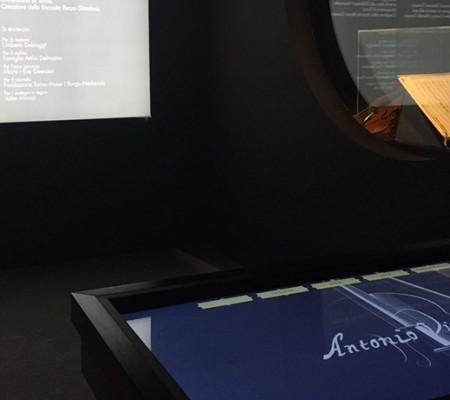 Installazione multimediale presso la Vivaldi House