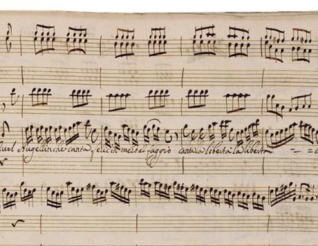 Digitalizzazioni di manoscritti ed edizioni a stampa musicali di Antonio Vivaldi